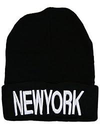 Winter Strickmütze Yolo New York Brooklyn Mütze unisex
