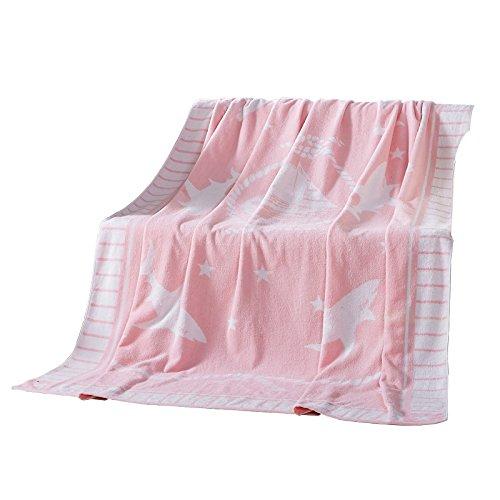 BDUK Handtücher sind reine Baumwolle, Bambus Faser Zellstoff Jacquard Dicke Kinder Baby Decke Decke Bettwäsche und