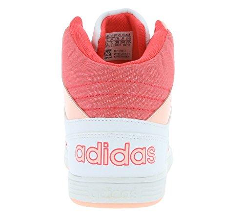 adidas NEO HOOPS MID K Enfants Baskets Blanc B74653 Weiß