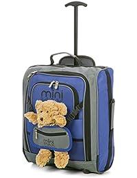 MiniMax Valise Enfant Sac à Dos avec pochette pour votre jouets /poupées /nounours