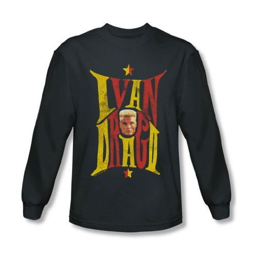 Rocky - Herren Ivan Langarm-Shirt in der Holzkohle Charcoal