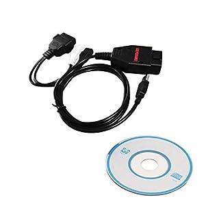 Triamisus Professionelle EOBD OBD2 1260 ECU Diagnosekabel Scan Interface Programmer Remap Flasher Tunning Werkzeug VAG Kabel