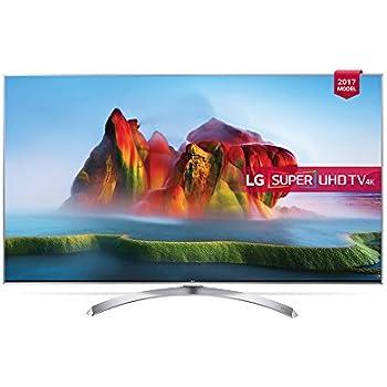 "LG 49SJ810V 49"" 4K Ultra HD Smart TV Wi-Fi Silver, White LED TV - LED TVs (124.5 cm (49""), 3840 x 2160 pixels, LED, Smart TV, Wi-Fi, Silver, White)"