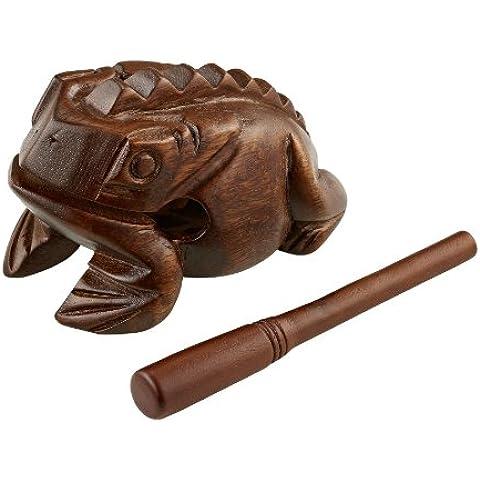 Meinl Percussion FROG-L - Rana de percusión (tamaño grande), color marrón