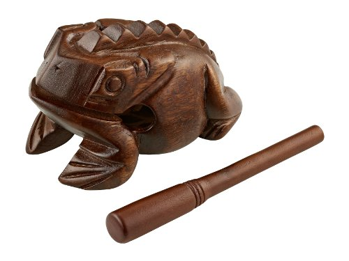 Meinl FROG-L Large Sized Wooden Frog - Brown
