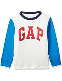 GAP Baby Boys' Plain Regular Fit T-Shirt