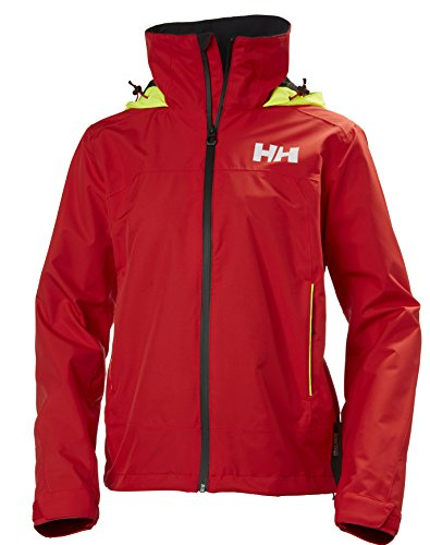 Helly Hansen Damen W Hp Fjord Jacket, Alert Red, L
