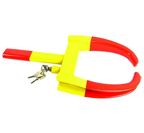 Heavy Duty Anti-theft Car Wheel Clamp with Keys