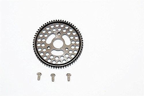 Traxxas E-Revo Brushless Edition Tuning Teile Steel Spur Gear (65T) - 1Pc Set Black