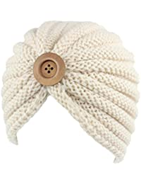 Leisial Copricapo Adulto per Adulti del Cappello di Lana Handmade  dell Artigianato Esotico Beige 04281252bb36