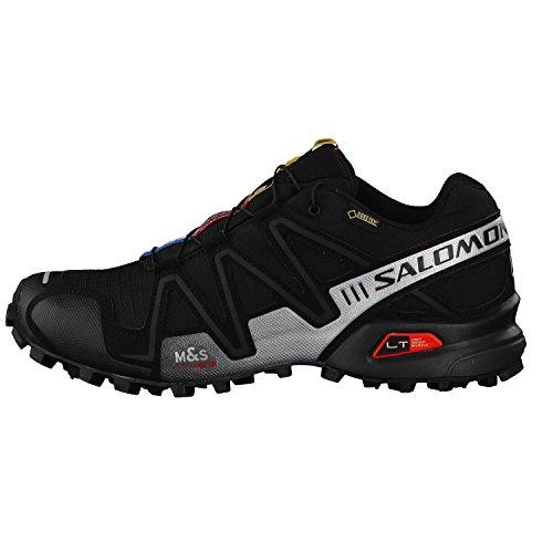 Salomon Speedcross 3 Gtx Damen Trail Runnins Sneakers black-silver metallic