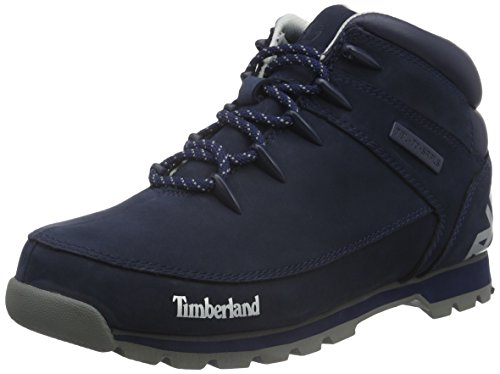 Timberland Herren Euro Sprint_euro Sprint Hiker Kurzschaft Stiefel Blau (Black Iris Nubuck)