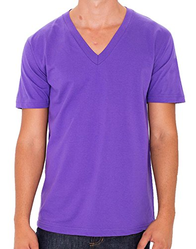 American Apparel Herren T-Shirt Violett