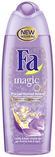 Fa - Magic Oil Gel Douche Frais/Doux Parfum Orchidée Violette Flacon 250 ml