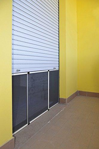 zanzariera-estensibile-per-porta-finestra-2pz-in-alluminio-protezione-insetti-zanzare-bronzo-100-x-7