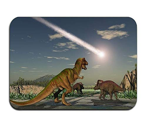 Rghkjlp Fashion 3D Print Door Mat Age of Dinosaurs Welcome zFußmatte for Indoor Outdoor