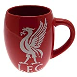 Liverpool FC Red White Tea Tub Football Club Crest Fan Gift Boxed Mug Official