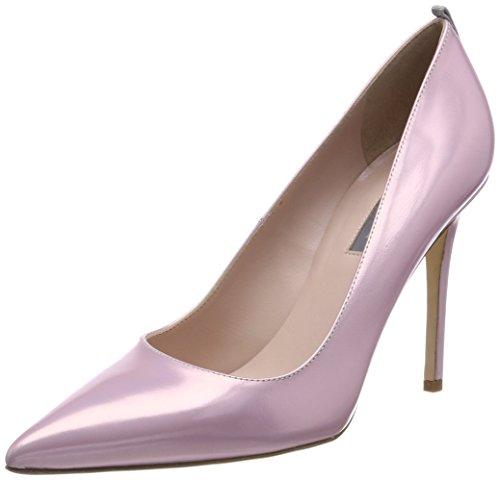 Fawn, Zapatos de Tacón para Mujer, Amarillo (Caution Yellow Suede), 35 EU SJP by Sarah Jessica Parker