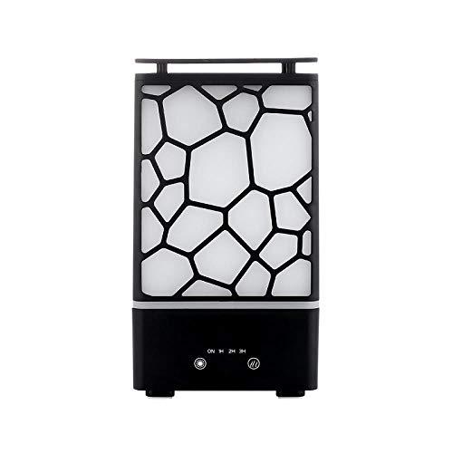 HHXZL Luftbefeuchter 200Ml Aromatischer Diffusor Wasserwürfel Luftbefeuchter Ultraschall Zerstäuber Bunte Nachtlicht Büro -