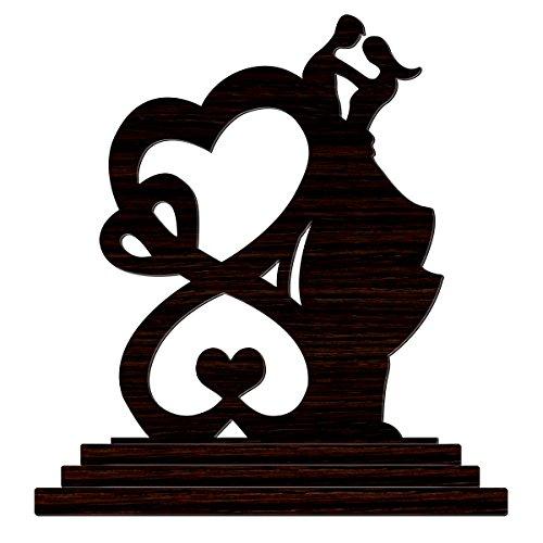 Crazyink Love 10 Wooden Home Dƒ Cor Love Showpiece Valentine Gift