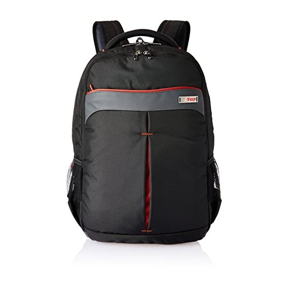 VIP Radian 27 Ltrs Black Laptop Backpack (LPBPRAD01BLK)