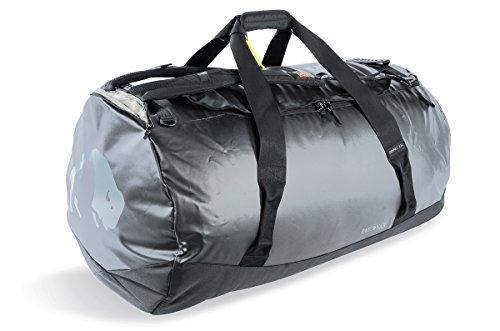 Tatonka Barrel XXL Reisetasche - 130 Liter - wasserfeste Tasche aus LKW-Plane mit Rucksackfunktion und großer Reißverschluss-Öffnung - Rucksacktasche - unisex - schwarz