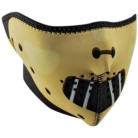 Zan Headgear Hannibal Men's Half Face Mask Harley Motorcycle Helmet