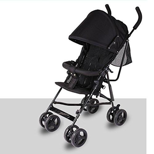 &Baby Kinderwagen Trolley Regenschirm Klapp-ultra-leichte tragbare sit Liege Baby Kinder Warenkorb