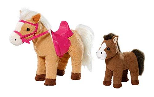Zapf Creation 822371 Baby Born Pony Farm - Yegua Sunny con Potro