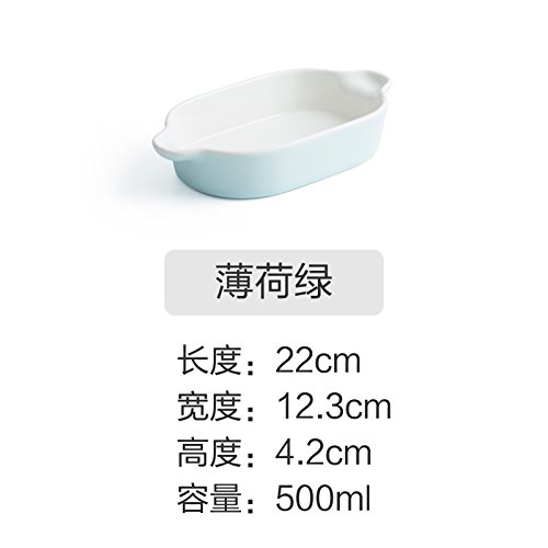YUWANW - Bandeja Horno Rectangular Horno arroz, microondas
