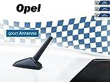 NIQ AM/FM KFZ-Auto-Tuning-Kurzstab-Sport-Dach-M5+M6 Gewinde-Ersatz-Antenne für OPEL