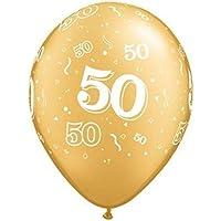 suchergebnis auf f r luftballons 50 geburtstag goldene hochzeit gold. Black Bedroom Furniture Sets. Home Design Ideas