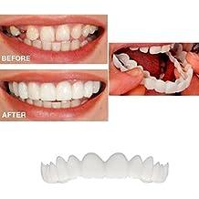 Dentaduras, simulación tirantes Flex Denture pasta,La increíble e instantánea reutilizable y extraíble que