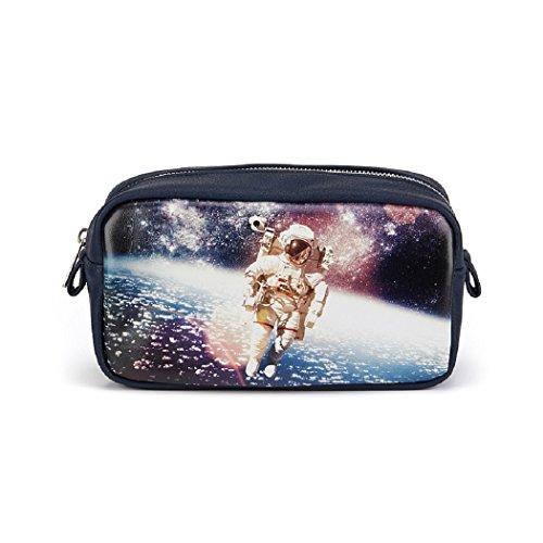 Catseye Kosmetiktasche Space Small Bag Weltall Reisetasche Klein Tasche Etui
