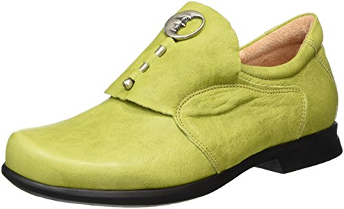 Think! Damen Pensa Slipper Grün (APFEL/KOMBI 59) YGdURETPY4