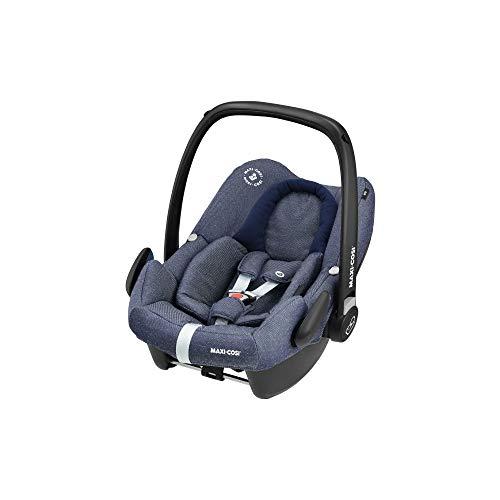 Maxi-Cosi Rock Babyschale, sicherer i-Size Kindersitz, Gruppe 0+ (0-13 kg), nutzbar ab der Geburt bis 12 Monate, sparkling blue