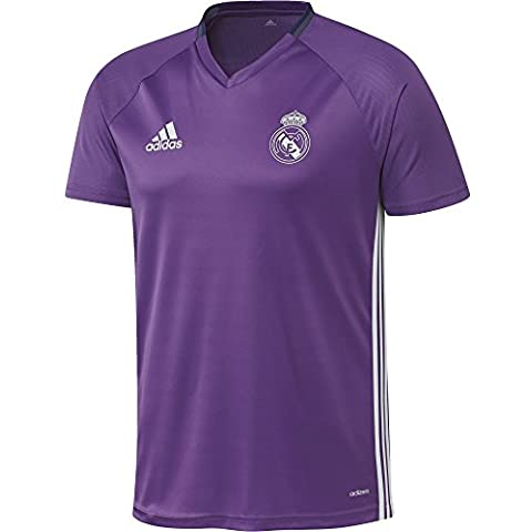 adidas Real Madrid Cf Trg Jsy - Camiseta para hombre, color morado / blanco, talla XXL