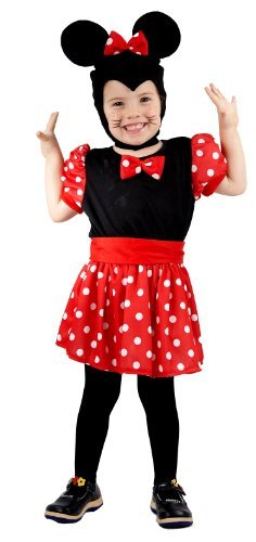 TODDLER MOUSE GIRL 3yrs (Kostüm Red Zone)