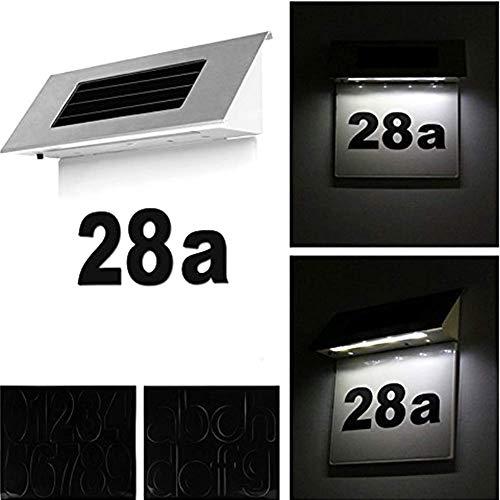 Matedepreso 4 LED Billboard Licht Solar Power Wohnung Leuchte für Lager, Parkplatz, Park, Billboard, Bauen, Street, Square, Factory - Wie abgebildet, Free Size