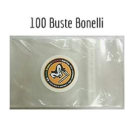 100 Buste per fumetti formato BONELLI – W.R. Buste