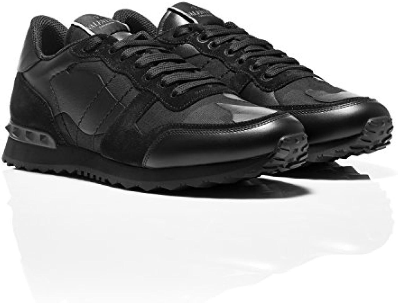Valentino   Herren Sneaker Schwarz schwarz