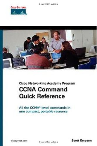 CCNA Command Quick Reference (Cisco Networking Academy Program) por Scott Empson