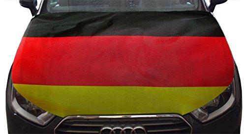 Sonia Originelli WM Motorhauben Überzieher Fußball Fan Auto Fahne Länder Flagge Farbe Deutschland