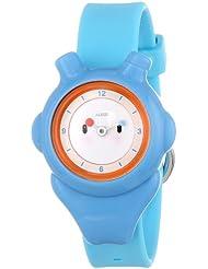Alessi AL23000 - Reloj analógico automático para niño, correa de plástico color azul