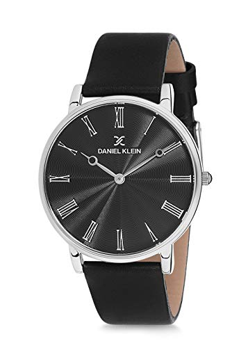 Daniel Klein Analog Black Dial Men's Watch-DK12216-2