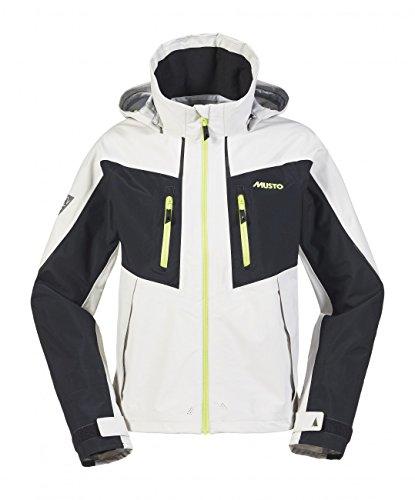 Musto BR2 Race Lite Jacket - Platinum/Black L