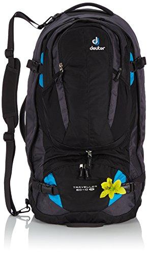 deuter-damen-trekkingrucksack-traveller-60-plus-10-sl-black-turquoise-70-x-36-x-38-cm-60-liter-35100