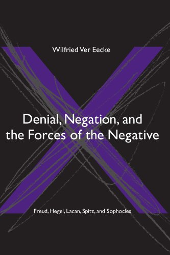 Denial, Negation And the Forces of the Negative: Freud, Hegel, Lacan, Spitz, And Sophocles (Suny Series in Hegelian Studies)