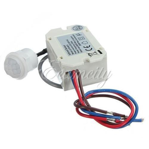 Generic dyhp-a10-code-5731-class-1–Caravan Alarm Larm Automotive Automatik 180~ 240V Mini PIR Motion CTOR F. Sensor Detektor F. R Mot Timer Relay 0V Mini–-dyhp-uk10–160819–3693