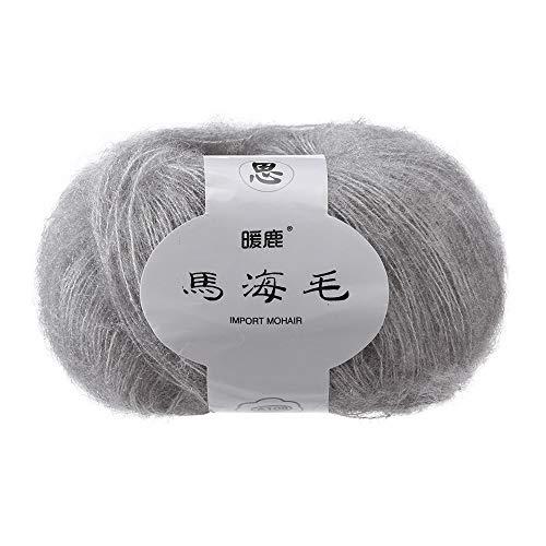 sunnymi 25g 2mm DIY Wolle Super Soft Baby Milk Cotton Wool Häkeln Hand Stricken Bunt Milch Baumwolle Geschenk Garn Strick Wolle Pullover Hüte Schals Decke (F, 2mm) -